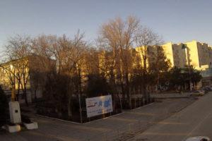 фото с веб-камеры у площади Ленина в Белогорске