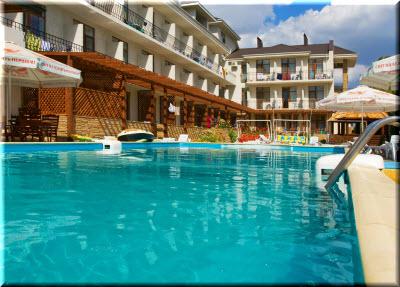 отель Атлантик в Феодосии