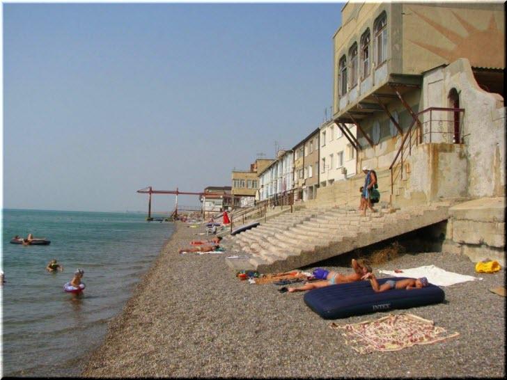 пляж кооператива Якорь