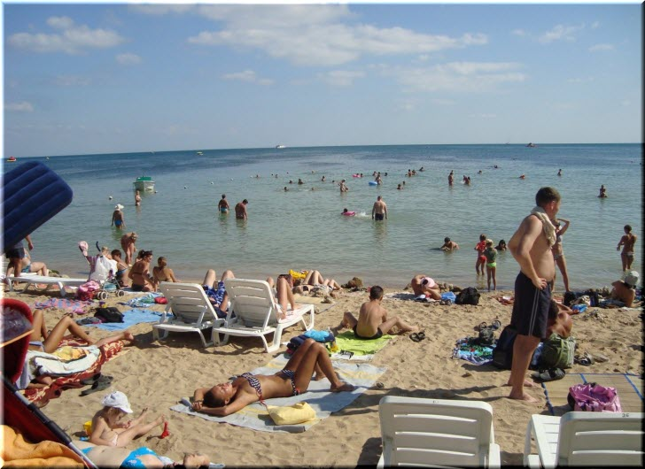 пляж Робинзон