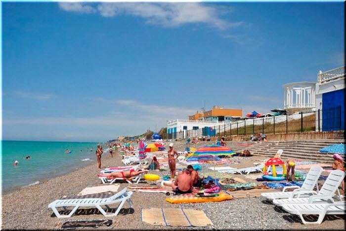 пляж Скиф