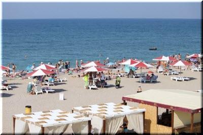 пляж в Новофедоровке