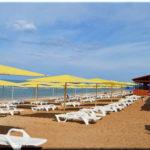 Жемчужный — пляж с перламутровым песком в Феодосии