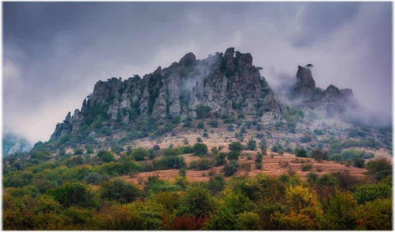 Долина привидений на горе Демерджи
