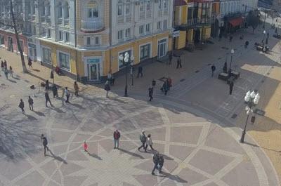 фото с камеры на ул Пушкина в Симферополе