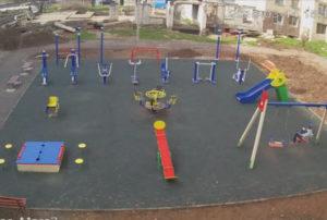фото с камеры у детской площадки ГРЭС