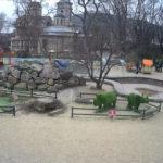 Веб-камера у детского сквера «Аленка» в Керчи