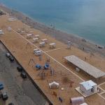 фото с камеры у пляжа Золотые пески