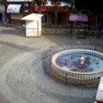 Камера у пансионата «Богема» и фонтана Пятак, Гурзуф