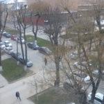 фото с камеры у ул Горького в Симферополе