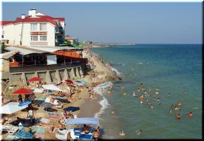пляж Приморского