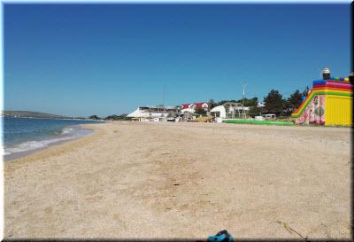 пляж рядом с пансионатом