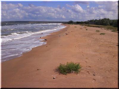пляжи Казантипского залива