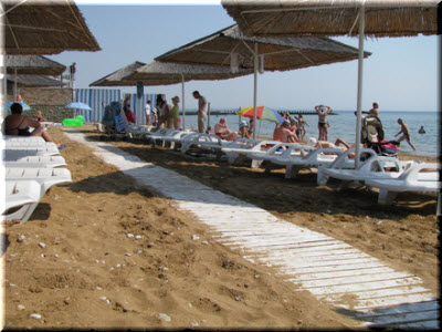 фото Детского пляжа в Феодосии