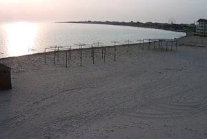 фото с камеры на пляже Межводного