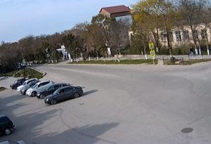 фото с камеры у пл Ленина в Черноморском