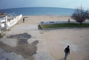 фото с камеры у пляжа Свежий ветер