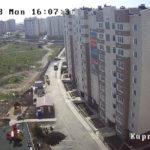 Камера у жилого комплекса «Куприн» в Севастополе