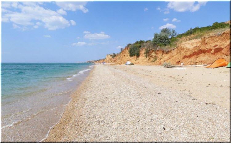 Нудистский пляж п Любимовка