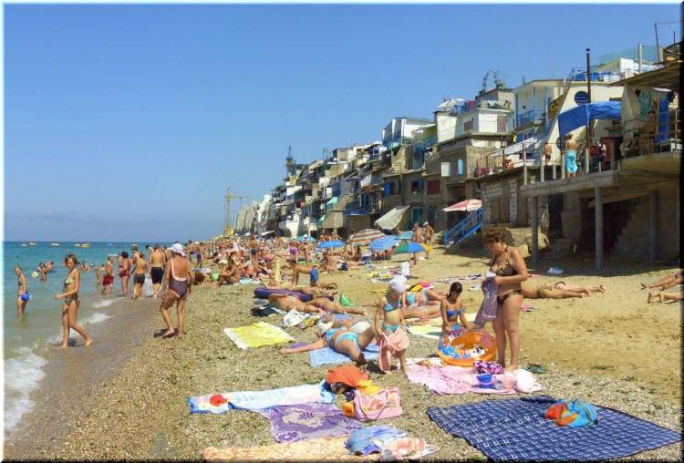 пляж Морские дачи