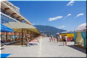 пляжи Никиты и Отрадного