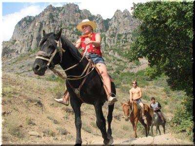 прогулки на лошадях в Крыму