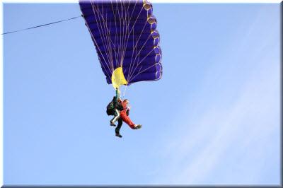 прыжок с парашютом в Крыму