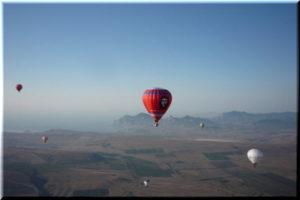 воздушные шары у Феодосии