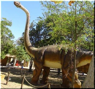 бронтозавр в Евпатории