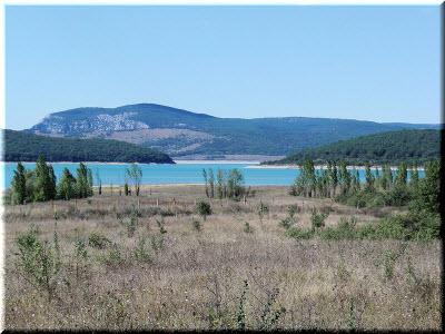фото Чернореченского водохранилища