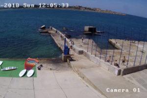 фото с камеры Омега Бей в Севастополе