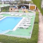 Камера у бассейна гостевого дома «Парадиз» в Николаевке
