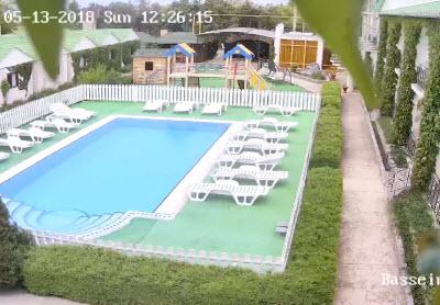 фото с камеры отеля Парадиз