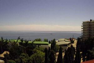 фото с камеры пансионата Крымские зори