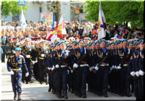 фото с Парада Победы 2017 в Севастополе