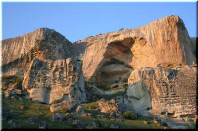 фотография пещерного монастыря
