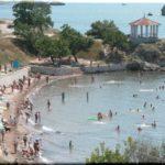 Молодежный пляж в Керчи