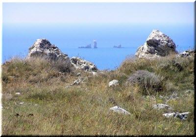 Скалы-корабли из Опука