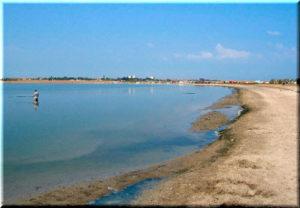 озеро Лиман в Оленевке