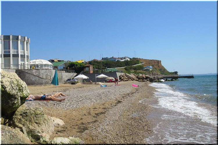 пляж Дача Алсу