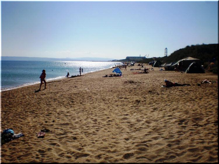пляж Песчанка
