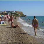 Лучшие пляжи поселка Орловка, Крым. Набережная