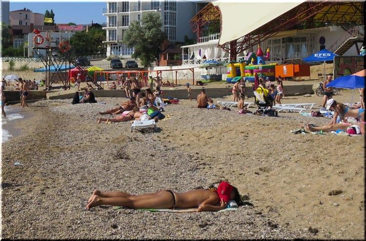 пляж Золотой берег
