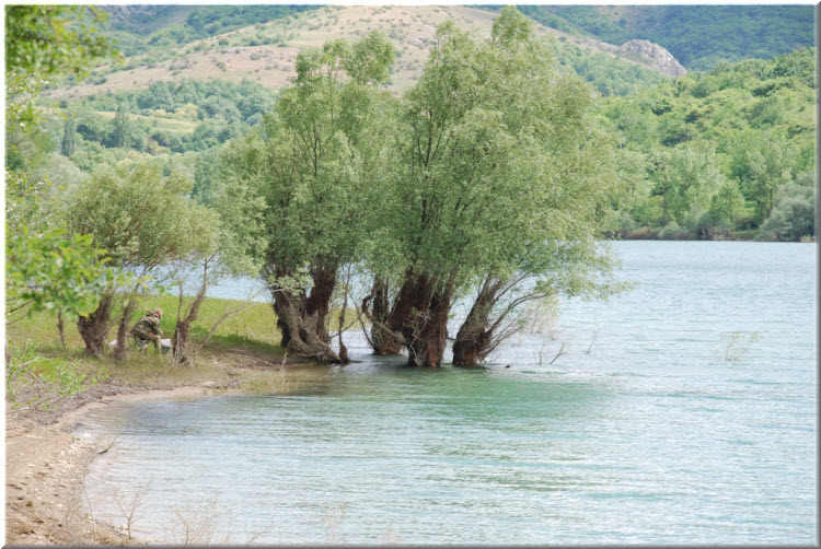 пляжи Аянского водохранилища