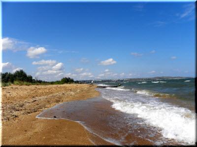 пляжи на Аршинцевской косе
