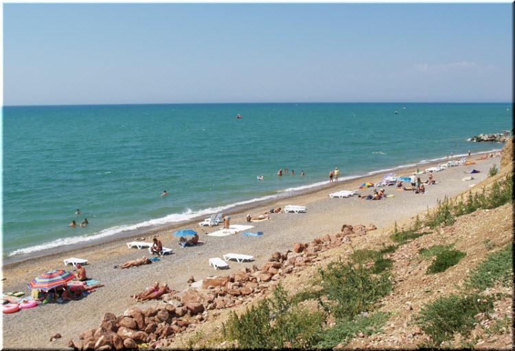 симферопольские пляжи Николаевки