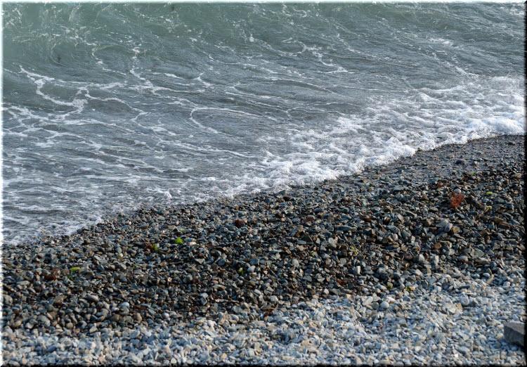 дикий пляж Никитского ботсада
