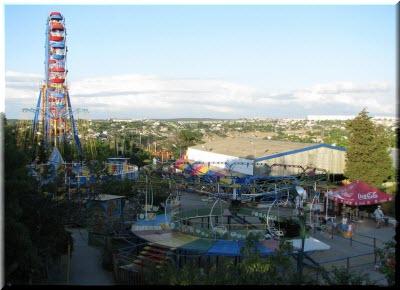 фото парка развлечений