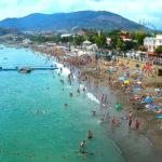 Онлайн камера у пляжа и набережной Бригантина в Судаке