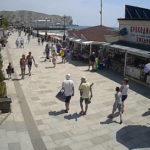 Онлайн камера на набережной города Судак